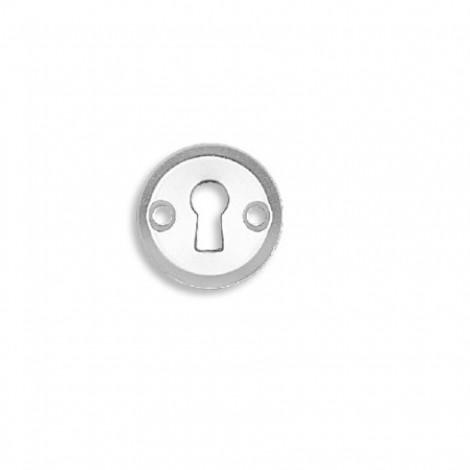 Fechadura para Móveis - Embutir - Com Espelho Redondo - Cra - 2020/35