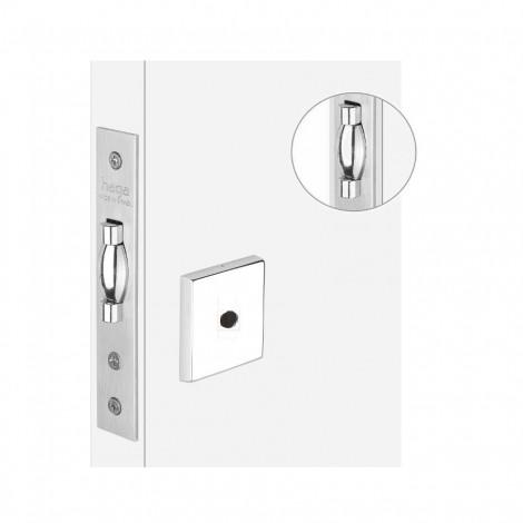 Fech. HAGA Trava Rolete p/ porta de Bater - Banheiro - 27814