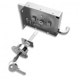 Fechadura - 342 - Sobrepor - com Cilindro Ajustável - 0751