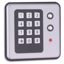 Fechadura Eletrônica para armário Embutir - 27609 - com Cartão de Acesso