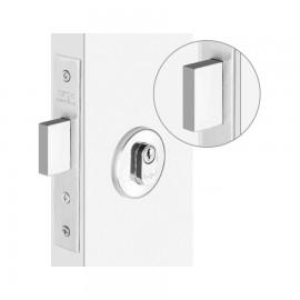 Fech. HAGA - Trava com Lingueta  - Para porta de Bater - Ros. 529 - Externa - 4688