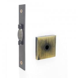 Fech. HAGA Trava Rolete porta de Bater - Banheiro - 27816