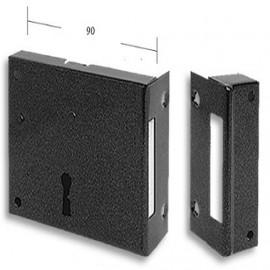 Fechadura Sobrepor - 1135B -  caixa com 10 fechaduras