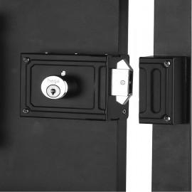 Fechadura Sobrepor - 0337 - caixa com 06 fechaduras