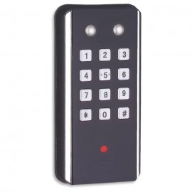 Fechadura Eletrônica para armário Sobrepor - 27592 - com Cartão de Acesso